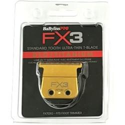 Babyliss Pro FX703G FX3 DLC Titanium Ultra Thin Blade Zero Gap Blade