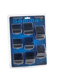GAMMA+ Double Dub Magnetic Guards Black - 8 pcs