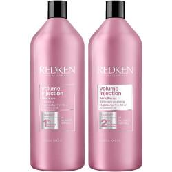 REDKEN Volume Injection Shampoo & Conditioner Duo 33.8 oz
