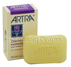 Artra Cocoa Butter Moisturizing Soap For Normal to Dry Skin 3.6 oz