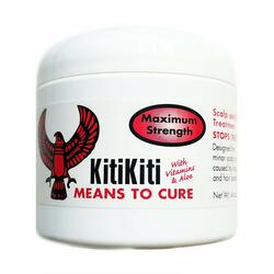 KitiKiti Scalp & Skin Treatment for Hair Bumps Maximum Strength Jar- 4oz