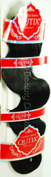 MODEL MODEL Cuticle Remy Qutix Modern Body Wave Human Hair Weave
