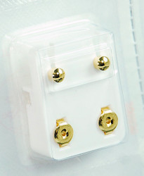 Studex Ear Piercing Gold Plated Ball Studs 12 pack R200Y