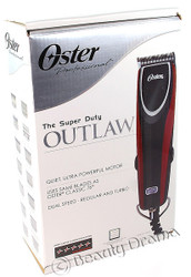 OSTER Outlaw Dual Speed Quiet Ultra Powerful Motor Clipper