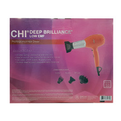 CHI Deep Brilliance Low EMF Hair Blow Dryer Orange