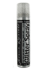 Jerome Russell Glitter Spray For Hair & Body Silver Color #86