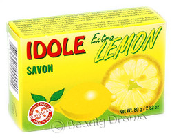 IDOLE Soap with Extra Lemon