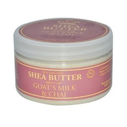 Nubian Heritage Organic Shea Butter with Goat's Milk & Chai