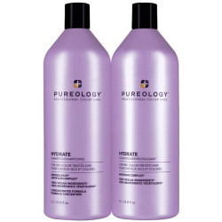Pureology HYDRATE Shampoo & Conditioner Liter Duo
