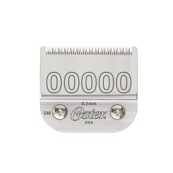 OSTER Detachable Blade Size 00000 Fits Classic 76, Octane, Model One, Model 10, Outlaw Clippers 076918-006