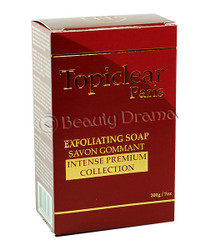 Topiclear Paris Exfoliating Soap Intense Premium Collection 7 oz