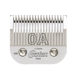 OSTER Detachable Blade Size 0A Fits Classic 76, Octane, Model One, Model 10, Outlaw Clippers 076918-056