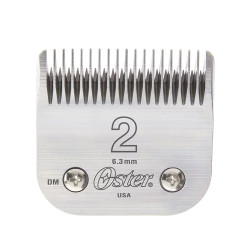 OSTER Detachable Blade Size 2 Fits Classic 76, Octane, Model One, Model 10, Outlaw Clippers 076918-126