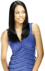 MODEL MODEL Ego Remy Hair Yaky Human Hair Weave 4pcs with Invisible Part Closure
