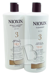 NIOXIN System 3 Cleanser & Scalp Therapy Duo Set 25 fl oz