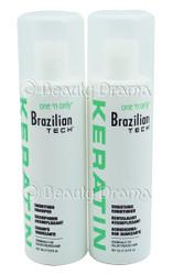 Brazilian Tech Keratin Smoothing Shampoo & Conditoner Combo Set