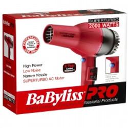 BaByliss PRO SuperTurbo 2000 Watts Hair Blow Dryer AC Motor