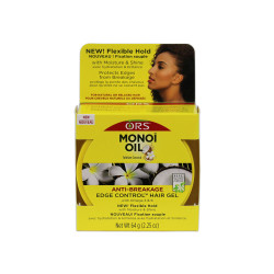Organic Root Stimulator Monoi Oil Anti-Breakage Edge Control Hair Gel 2.25oz