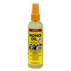ORS Monoi Oil Anti-Breakage Rejuvenating Spray For Natural Silky Curly Hair 4oz