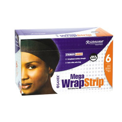 GRAHAM Mega Wrap Styling Strips Black