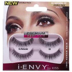 i.ENVY Double Pack Lashes Au Naturale 08