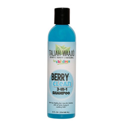 Taliah Waajid Kinky, Wavy, Natural Berry Clean Three In One Shampoo 8 oz