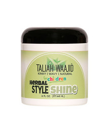 Taliah Waajid Kinky, Wavy, Natural Herbal Style & Shine Cream 6 oz