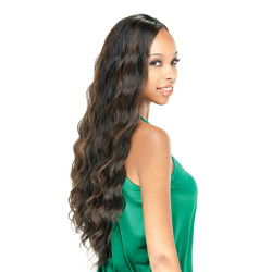 "MODEL MODEL Equal Soft Wave 22"",  NeoTura High Heat Synthetic Hair Weave"