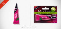 Kiss i ENVY Strip Eyelash Adhesive Glue with Aloe-Black, KPEG02A