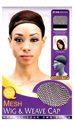 M&M HeadGear Qfitt Mesh Wig & Weave Cap #556