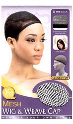 M&M HeadGear Qfitt Mesh Wig & Weave Cap #504