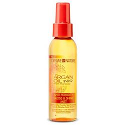 Creme of Nature Argan Oil Anti-Humidity Gloss & Shine Mist 4 oz