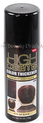 High Beams Color Thickener Temporary Spray-On Hair - Jet Black 2.7 oz