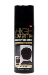 High Beams Color Thickener Temporary Spray-On Hair - Black 2.7 oz