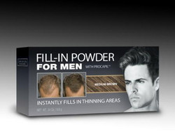 Cover Your Gray Fill-in Powder with Procapil For Men-Medium Brown