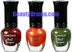 KleanColor Wicked Witch Gothic Nail Lacquer Mini Collection