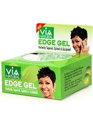 Via Edge Gel Argan & Olive Oils Hold & Radiant Shine 2 oz