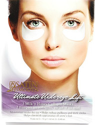 Satin Smooth Ultimate Under Eye Lift Milk & Honey Collagen Mask