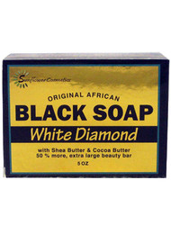 Sunflower Black Soap White Diamond 5 oz
