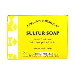 African Formula Sulfur Soap 3.5 oz / 100 g