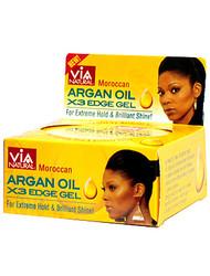 Via Moroccan Argan Oils X3 Edge Gel 2 oz