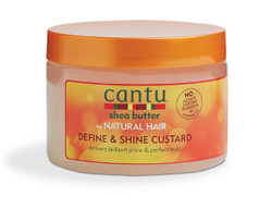 Cantu Shea Butter Natural Hair Define & Shine Custard 12 oz