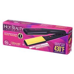 "Hot Beauty Ceramic Flat Iron 1.5"", HFI150"
