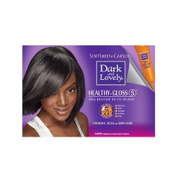Dark and Lovely Healthy Gloss 5 Shea Moisture No-Lye Relaxer - Super