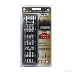 Wahl Pro 8 Pack Cutting Guides Metal Clips