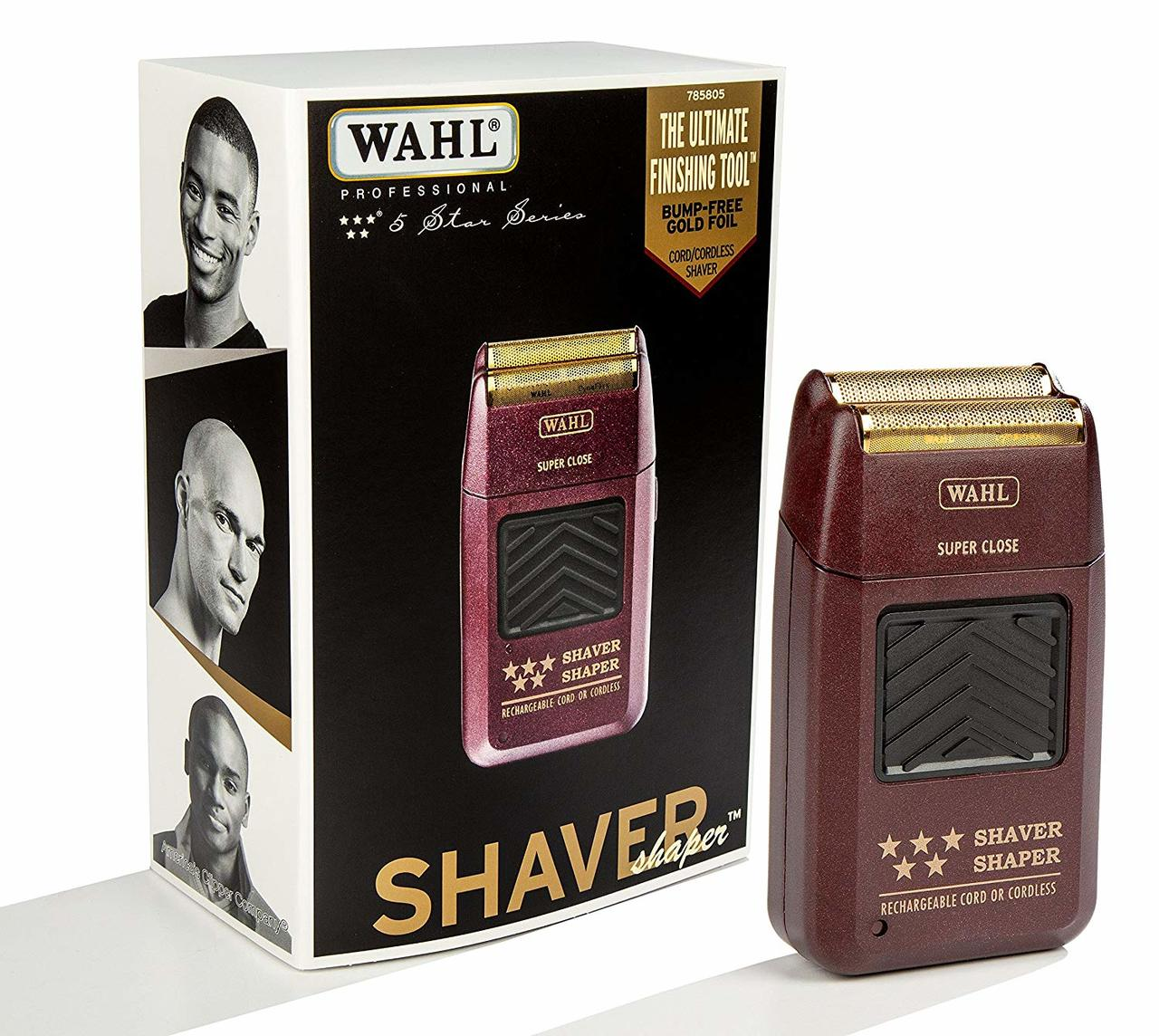 WAHL 5-star shaver shaper cord or cordless bump free shaver