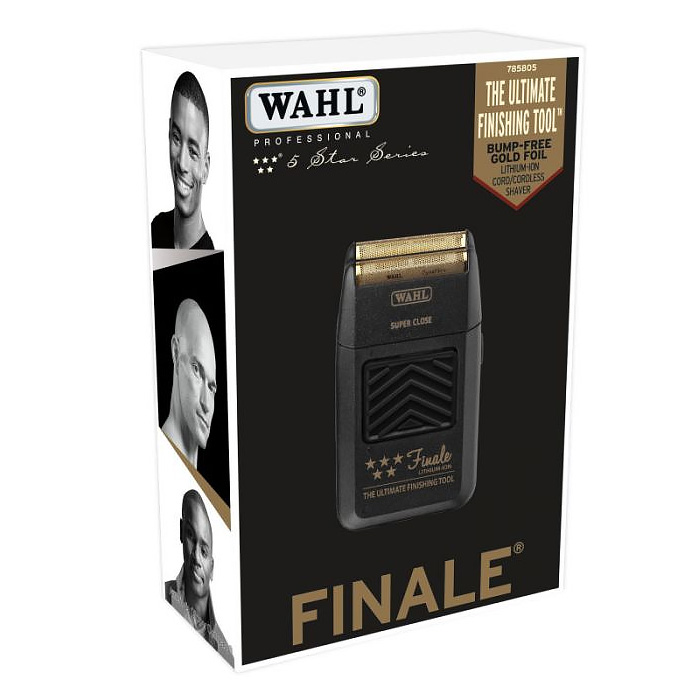 WAHL 5-Star FINALE Shaver / Shaper Cord / Cordless Bump Free Shaver