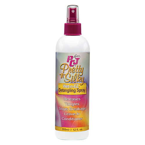 Luster's PCJ Pretty-n-Silky Wet-n-EZ Detangling Spray 12 oz