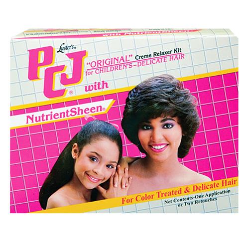 Luster's PCJ Pretty-N-Silky Original Creme Relaxer Kit for Children's-Delicate Hair
