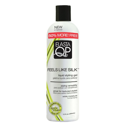 Elasta QP Feels Like Silk Liquid Styling Gel 12 oz